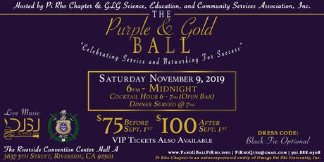 Purple And Gold Ball tickets