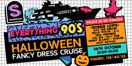 Everything 90's Halloween Harbour Cruise tickets