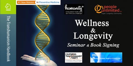 Wellness & Longevity Seminar + Book Signing tickets