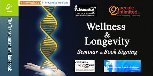 Wellness & Longevity Seminar + Book Signing