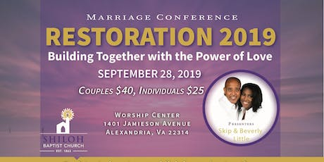 Restoration Marriage Conference tickets