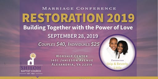 Restoration Marriage Conference