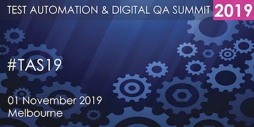 Test Automation and Digital QA Summit 2019 - Melbourne
