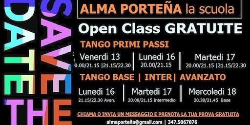 Open Class Gratuite Tango Argentino