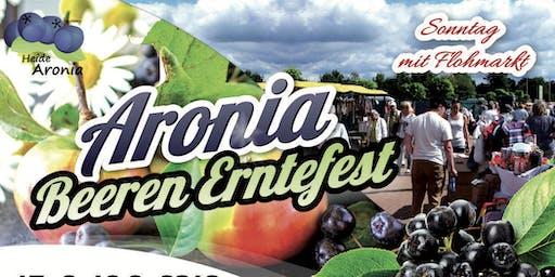 Aronia Beeren Erntefest und Flohmarkt in Schwarmstedt