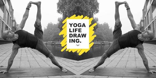 Yoga Life Drawing
