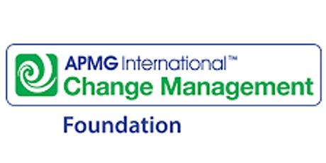 Change Management Foundation 3 Days Virtual Live Training in Markham tickets