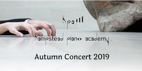 Hampstead Piano Academy Autumn Concert 2019 tickets