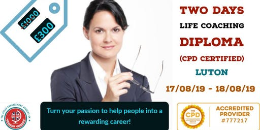 CPD Accredited Life Coach Diploma