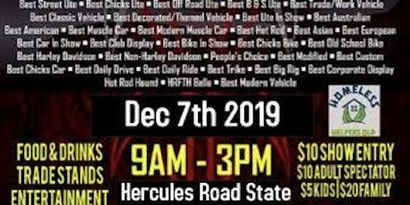 Hot Rod's For The Homeless 2019 Redcliffe tickets