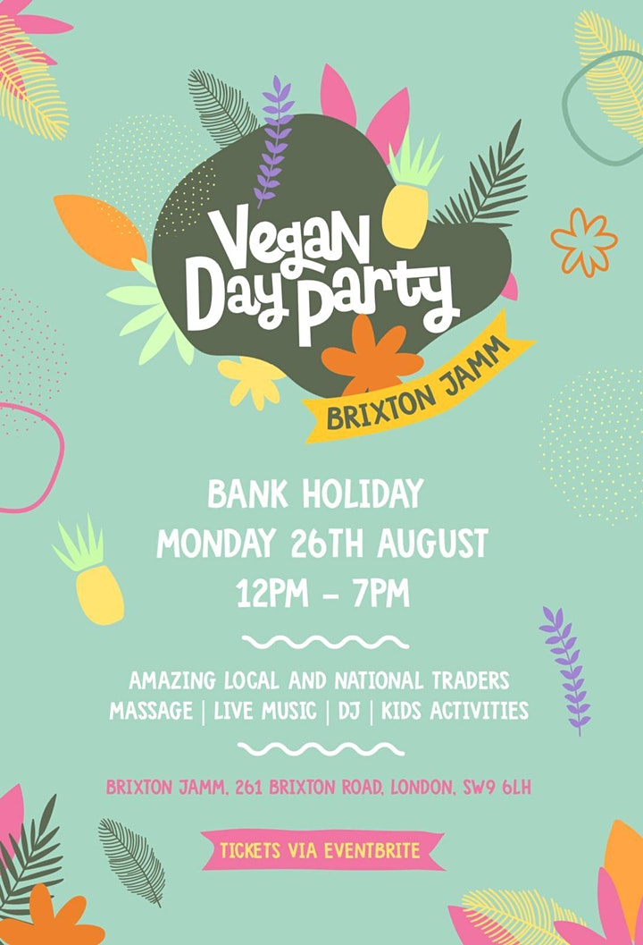 Vegan Day Party - London Edition image