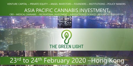 The Green Light - Asian  Cannabis & Hemp Investment Opportunities tickets