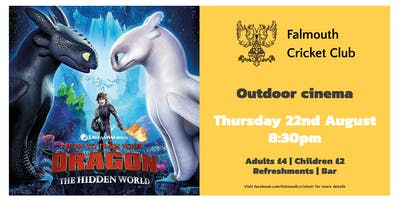 How To Train Your Dragon 3 Outdoor Cinema