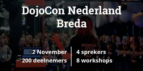 DojoCon NL 2019 tickets