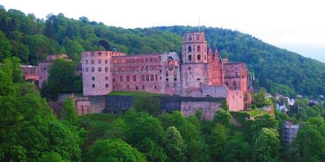 """Fr,06.09.19 Wanderdate - """"Heidelberger Single Treff am Neckar mit Schlossblick für 35-55J"""" Tickets"""