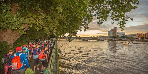 Community walk & discussion on the Thames Path Pledge