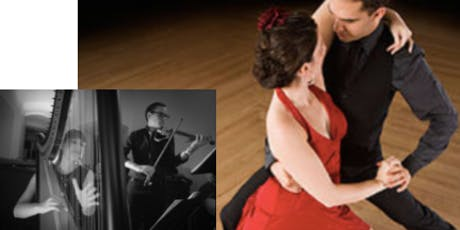 Argentine Tango Dance with Live Music Duo Tango Clasico tickets