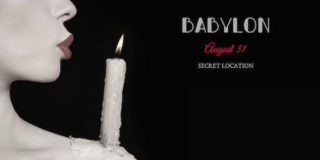 Babylon tickets