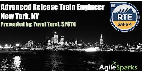 SAFe 4.6 Release Train Engineer (RTE) - New York City - September 2019 - GTR tickets