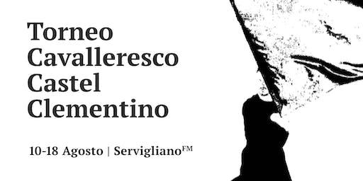 Torneo Cavalleresco Castel Clementino 51a Edizione