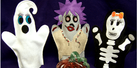 Family Learning - Halloween Puppet Making and Performance - Arnold Library tickets