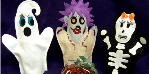 Family Learning - Halloween Puppet Making and Performance - Arnold Library