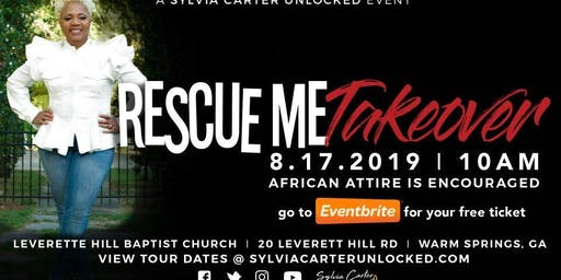 Rescue Me Takeover at Leverette Hill Baptist Church
