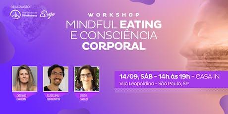 Workshop Mindful Eating: alimentação consciente. tickets