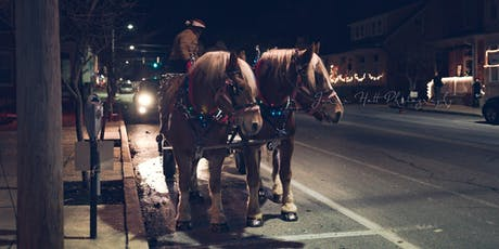 2019 Christmas Carriage Rides tickets