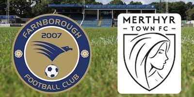 Farnborough vs Merthyr Town