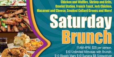 SoBe Restaurant and Lounge Saturday Brunch Buffet