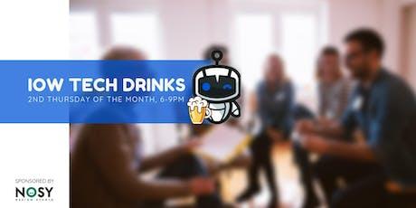 IOW Tech Drinks tickets