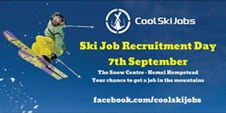 Ski Job Recruitment Day  tickets