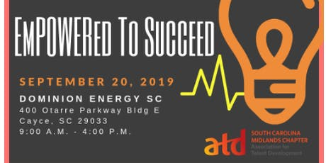 2019 SC Association for Talent Development EmPOWERed to Succeed Conference tickets