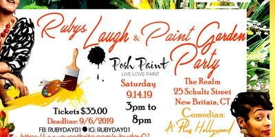Ruby's Laugh & Paint Garden Party