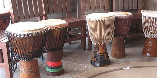 Family Learning - African Drumming - Beeston Library