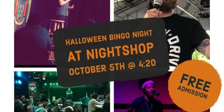 Halloween Bingo Night tickets