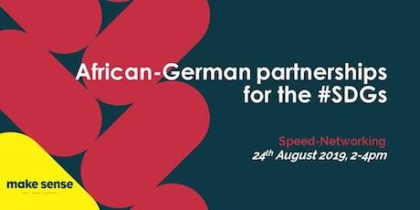 African-German partnerships Vol II: Speed-Networking tickets