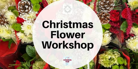 Christmas flower workshop tickets