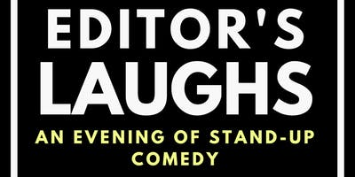"""Super Trooper Improv presents """"Editor's Laughs - an evening of stand-up comedy"""""""