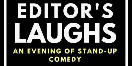 """Super Trooper Improv presents """"Editor's Laughs - an evening of stand-up comedy"""" tickets"""