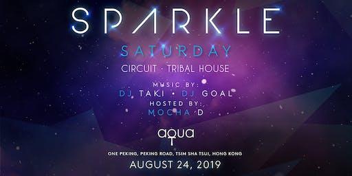 Sparkle Saturday X Aqua Spirit