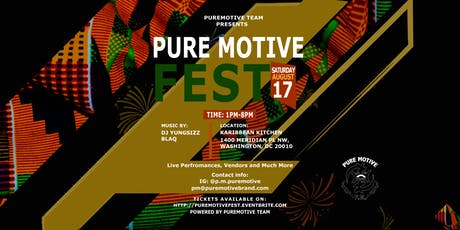 Pure Motive Fest  tickets