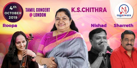 K S CHITHRA - TAMIL CONCERT @ LONDON tickets