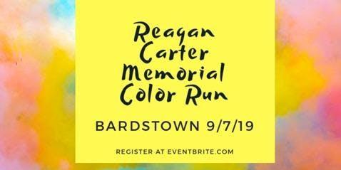 Reagan Carter Memorial 5k Color Walk Run