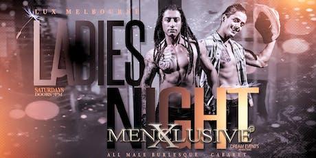 Ladies Night Melbourne - Cabaret Menxclusive 19 Oct tickets