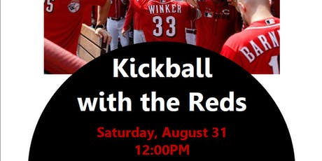 Kickball with the Reds tickets