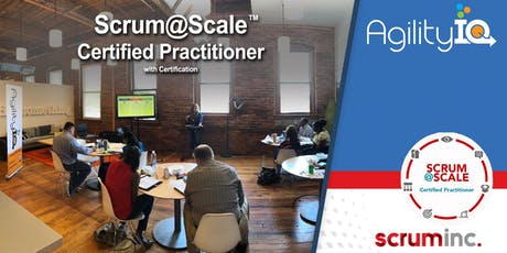 Scrum@Scale Certified Practitioner with Certification tickets