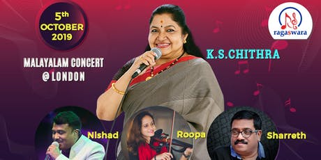 K S CHITRA - MALAYALAM CONCERT @ LONDON tickets