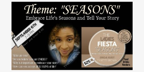 Ladies Fiesta: Seasons tickets